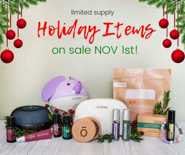 2018 doTERRA Holiday Gift Guide