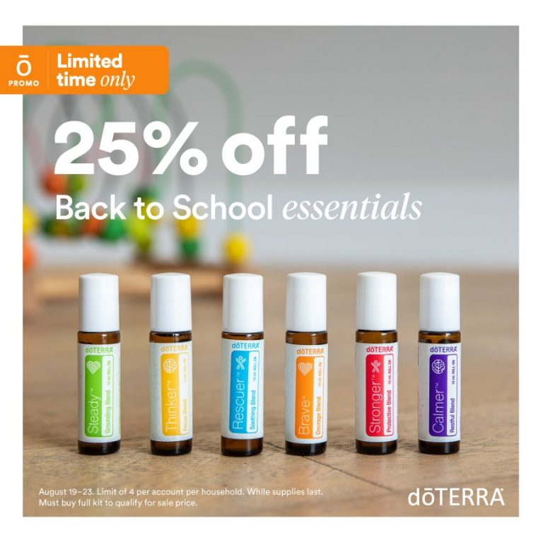 Back to School 25% Off Sale