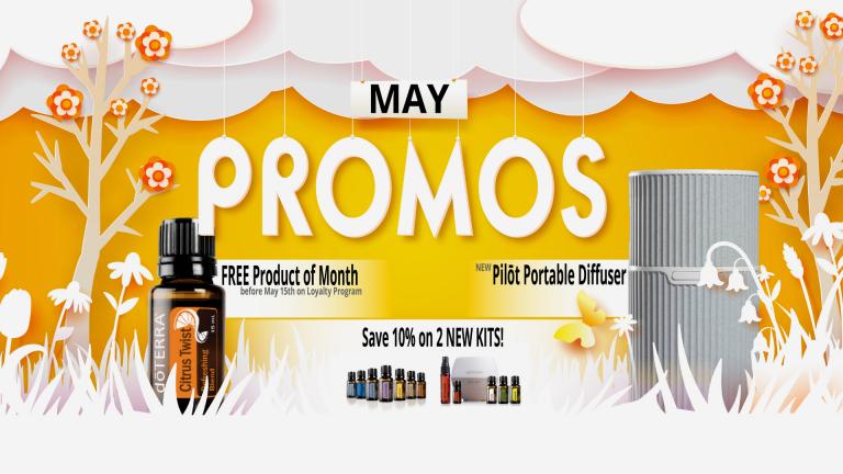 May 2020 doTERRA Promos