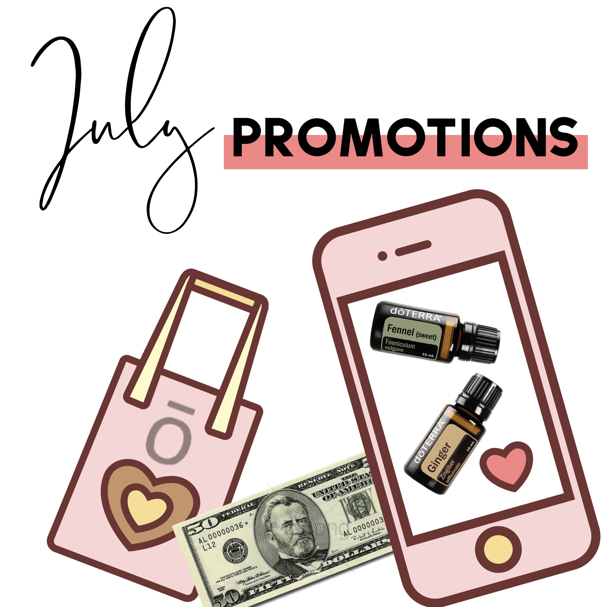 doTERRA July Promotions