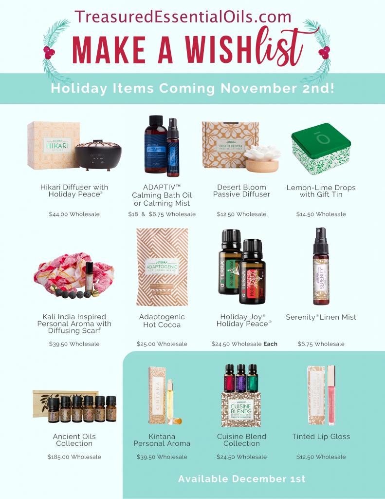 Holiday Gift Wish List