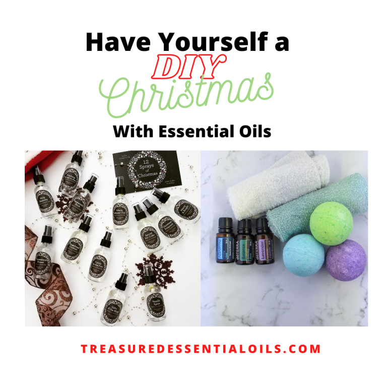 Have Yourself a DIY Christmas with Essential Oils