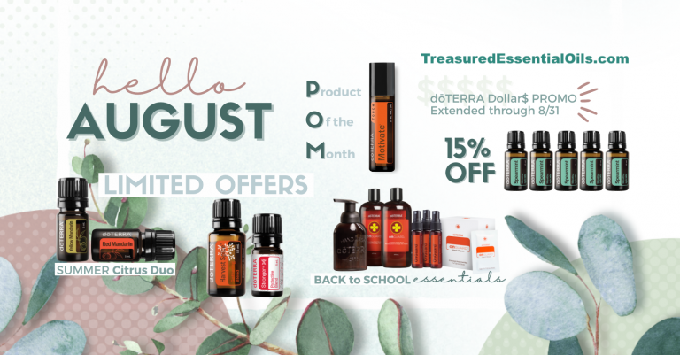 August 2021 doTERRA Promotions